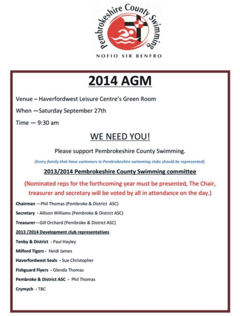 county agm poster